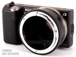Adapter for Canon FD FL R Manual Focus and AC Lenses on Sony NEX, A7 or A7R Digital Cameras